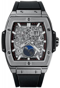 Authentic Hublot Spirit of Big Bang Moonphase Titanium 647.NX.1137.RX Watch