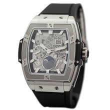 Load image into Gallery viewer, Hublot 647.NX.1137.RX powered by HUB1770 self-winding skeleton, big date moonphase movement, 50 hour power reserve