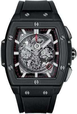 Authentic Hublot Spirit of Big Bang Black Magic Chronograph 45mm 601.CI.0173.RX Watch