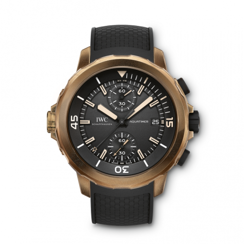 Authentic IWC Aquatimer Chronograph Edition Expedition Charles Darwin IW3795-03 Watch