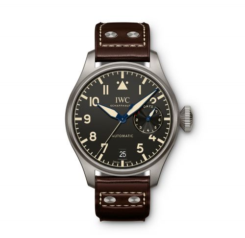 Authentic IWC Big Pilot Heritage Titanium IW501004 Watch