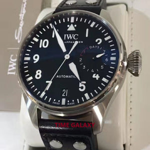 Pre-Owned IWC500912 black dial, 51111 calibre, 7 days power reserve