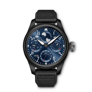 Authentic IWC Big Pilot's Perpetual Calendar Top Gun Edition Rodeo Drive IW503001 Watch