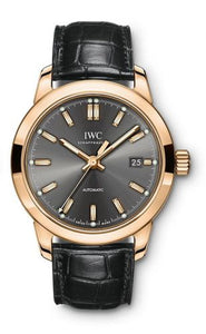 Authentic IWC Ingenieur Automatic Red Gold Slate IW357003 Watch