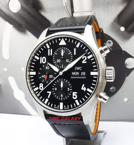 Buy Sell IWC Pilot's Chronograph IW3777-09 at Time Galaxy Watch