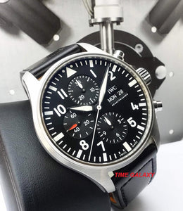 IWC Pilot's Chronograph IW3777-09 caliber 79320, power reserve 44 h, day, date