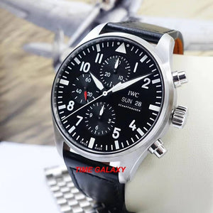 Authentic Pre-Owned IWC IW3777-09 watch excellent condition warranty valid until July 2027