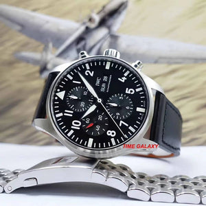 Buy, Sell, Trade Pre-Owned IWC Pilot's Watch IW377709 at Time Galaxy Malaysia