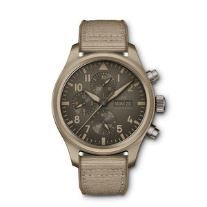 Authentic IWC Pilot's Watch Chronograph Top Gun Edition 'Mojave Desert' IW389103 Limited Edition