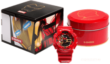 Load image into Gallery viewer, Brand new authentic The Avengers Endgame Ironman watch comes in full package with red colour box