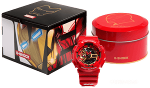 Brand new authentic The Avengers Endgame Ironman watch comes in full package with red colour box