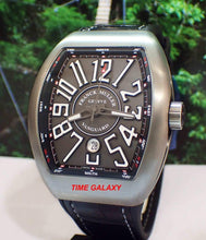Load image into Gallery viewer, Brand New 100% Genuine FRANCK MULLER Vanguard Brushed Titanium Automatic Men's Watch