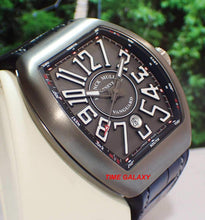 Load image into Gallery viewer, Franck Muller V45SCDTTTBRNR made of titanium and sapphire crystal glass