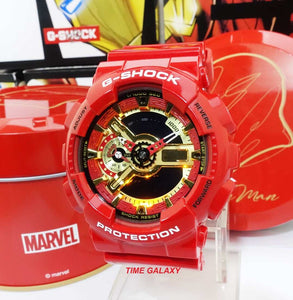 Genuine limited edition wrist watch G-shock x Ironman by Time Galaxy Online Watch Store Malaysia