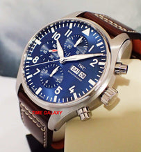 Load image into Gallery viewer, IWC IW377714 Le Petit, blue dial, sapphire glass, stainless steel