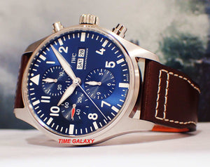 IWC Pilot's Chronograph IW3777-14 caliber 79320, power reserve 44 h, day, date