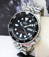 Load image into Gallery viewer, Seiko Diver Automatic Black SKX007K2