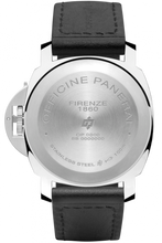 Load image into Gallery viewer, Panerai PAM01000 stainless steel and sapphire glass material, black dial, handwound with OP I calibre
