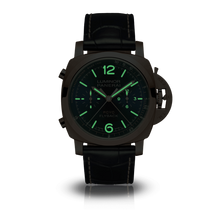 Load image into Gallery viewer, Panerai PAM1020 blue dial, stick and dot indexes, stick hands, date display, night indicator