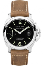 Load image into Gallery viewer, Authentic Panerai Luminor Marina Automatic 44 mm Black PAM 1104 Watch