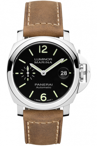 Authentic Panerai Luminor Marina Automatic 44 mm Black PAM 1104 Watch