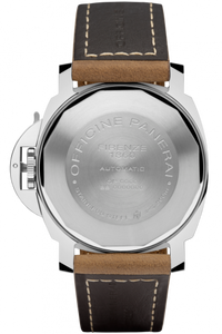 Panerai PAM1104 made of stainless steel, sapphire glass, 300 m water resistance