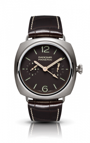 Authentic Panerai Radiomir Tourbillon GMT Titanio PAM 315 Watch
