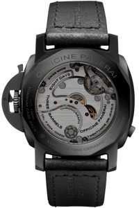 Panerai PAM317 made of ceramic, sapphire glass, 100 m water resistance