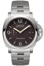 Load image into Gallery viewer, Authentic Panerai Luminor 1950 Marina 3 Days Automatic Titanio Bracelet PAM 352 Watch