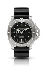 Load image into Gallery viewer, Authentic Panerai Luminor 1950 Submersible 2500M 3 Days Automatic Titanio PAM 364 Watch