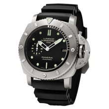 Load image into Gallery viewer, Buy Sell Panerai Luminor 1950 Submersible 2500m 3 Days Automatic Titanio PAM 364 at Time Galaxy Watch