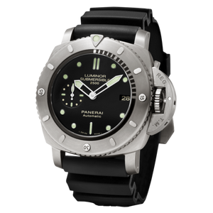 Buy Sell Panerai Luminor 1950 Submersible 2500m 3 Days Automatic Titanio PAM 364 at Time Galaxy Watch