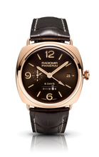 Load image into Gallery viewer, Authentic Panerai Radiomir 8 Days GMT Oro Rosso PAM395 Limited Edition Watch