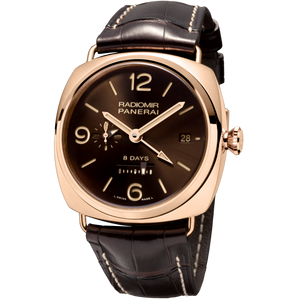 Buy Sell Panerai Radiomir 8 Days GMT Oro Rosso at Time Galaxy Watch