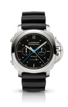 Load image into Gallery viewer, Authentic Panerai Luminor 1950 Rattrapante 8 Days Titanio Transat Classique 2012 PAM 427 Limited Edition Watch