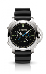 Authentic Panerai Luminor 1950 Rattrapante 8 Days Titanio Transat Classique 2012 PAM 427 Limited Edition Watch
