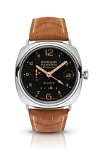 Load image into Gallery viewer, Authentic Panerai Radiomir 10 Days GMT Platino PAM 495 Limited Edition Watch