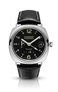 Authentic Panerai Radiomir 10 Days GMT Oro Bianco PAM 496 Limited Edition Watch