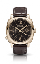 Load image into Gallery viewer, Authentic Panerai Radiomir 1940 Chrono Monopulsante Left-handed 8 Days Oro Rosso PAM502 Limited Edition Watch