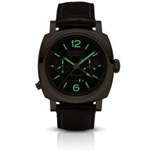 Load image into Gallery viewer, Panerai PAM502 brown dial, mixed indexes, stick hands