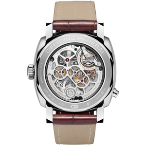 Panerai PAM503 made of white gold, sapphire glass, water resistant up to 100m