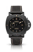 Load image into Gallery viewer, Authentic Panerai Luminor 1950 Submersible 3 Days Automatic Ceramica PAM 508 Limited Edition Watch