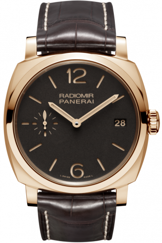 Authentic Panerai Radiomir 1940 3 Days Oro Rosso PAM 515 Watch