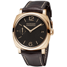 Load image into Gallery viewer, Buy Sell Panerai Radiomir 1940 3 Days Oro Rosso PAM 515 at Time Galaxy Watch