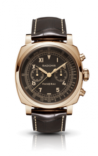 Load image into Gallery viewer, Authentic Panerai Radiomir 1940 Chronograph Oro Rosso PAM519 Limited Edition Watch