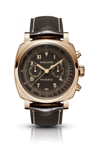 Authentic Panerai Radiomir 1940 Chronograph Oro Rosso PAM519 Limited Edition Watch