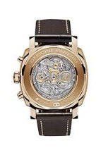 Load image into Gallery viewer, Panerai PAM519 made of red gold, sapphire glass, chronograph, column wheel