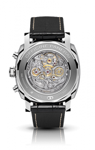 Load image into Gallery viewer, Panerai PAM520 made of white gold, sapphire glass, chronograph, column wheel