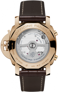 Panerai PAM525 made of Red Gold, sapphire glass, 50 m water resistance