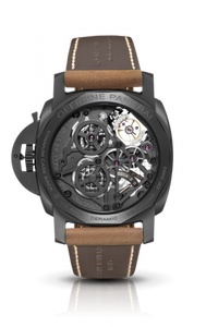 Panerai PAM528 made of titanium, ceramic, sapphire glass, 100 m water resistance